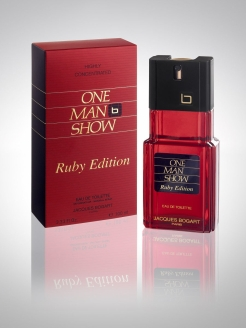 Туалетная вода ONE MAN SHOW SHOW RUBY EDITION, 100 мл PARFUMS JACQUES BOGART