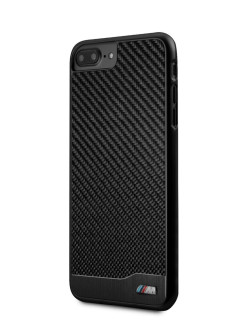 Чехол для iPhone 7+/8+ M-Collection Aluminium&Carbon Hard Black BMW
