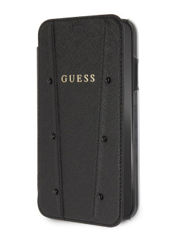Чехол для iPhone XR KAIA collection Booktype Black GUESS