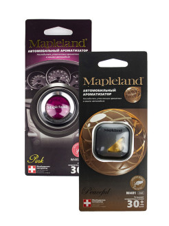 Ароматизатор для авто MAPLELAND M402 PINK, M401 PEACEFUL (комплект из 2 шт) PROFFI