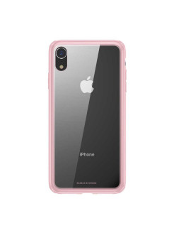 Чехол-накладка Apple iPhone XR Baseus See-through Glass Pink BASEUS