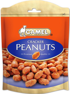 "Жареный арахис со специями ""Cracker Peanuts"" 150гр Camel"