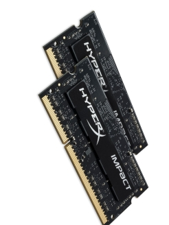 Комплект памяти DDR3L SODIMM 8Гб (2х4Гб) 1600MHz CL9, HyperX Impact Kingston