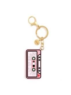 Брелок silicone keychain,  break up song ban.do