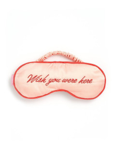 Маска для сна the getaway eye mask, wish you were here ban.do