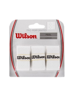 Овергрипы PRO OVERGRIP PERFORATED WH Wilson