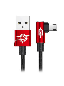 Кабель USB-Micro Baseus MVP Elbow CAMMVP-A09 Red 1м BASEUS