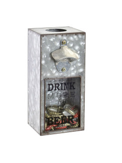 Коробка для пробок *Drink more beer* RICH LINE Home Decor