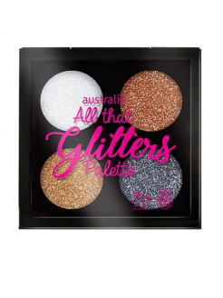 Палетка теней All that Glitters Palette - Dazzle Me Australis Cosmetics