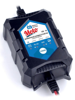Зарядное устройство 12В, 1А Battery Service Moto, PL-C001P Battery Service