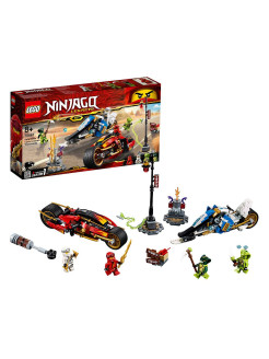 Designer of LEGO Ninjago 70667 Kai's motorcycle blade and Zayn's snowmobile LEGO