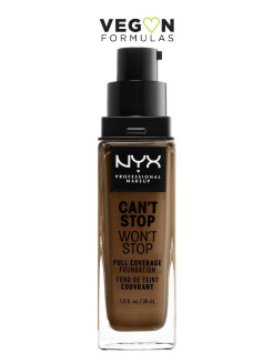 Тональная основа с плотным покрытием. cant stop wont stop full coverage foundation NYX PROFESSIONAL MAKEUP