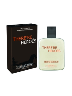Туалетная вода There Re Heroes 100 ml for men Дельта Парфюм