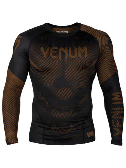 Рашгард NoGi 2.0 Black/Brown L/S Venum