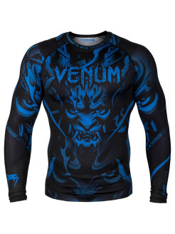 Рашгард Devil Navy Blue/Black L/S Venum