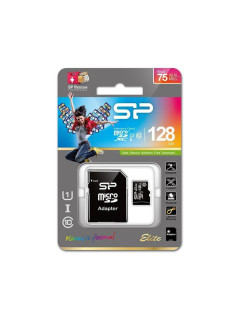 Флеш карта microSD 128GB, Class 10, UHS-I (SD адаптер) SILICON POWER