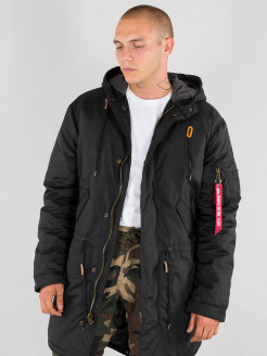 Парка Hooded Fishtail CW TT Alpha Industries