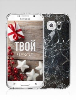 Чехол для Samsung Galaxy S6 With Love. Moscow