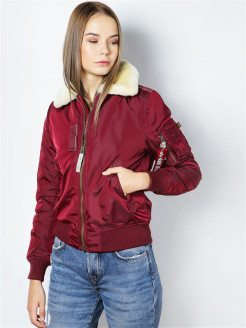 Бомбер Injector III Wmn Alpha Industries
