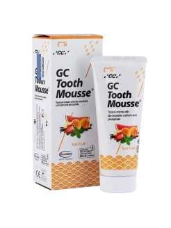 Гель GC Tooth Mousse Мультифрукт, 35 мл GC Tooth Mousse