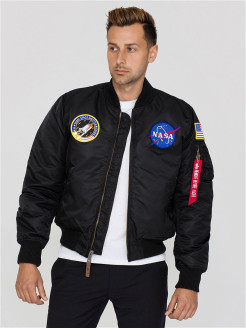 Бомбер MA-1 VF NASA Alpha Industries