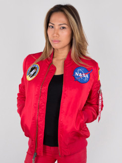 Бомбер MA-1 VF NASA Wmn Alpha Industries