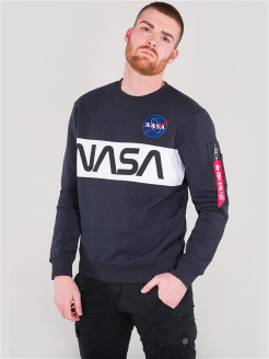Свитшот NASA Inlay Sweater Alpha Industries