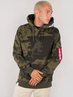 Худи Printed Tape Hoody Alpha Industries