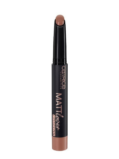 Губная помада-карандаш Mattlover lipstick pen 60 Top It With Cinnamon молочный шоколад CATRICE.