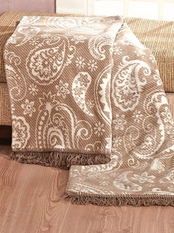 Плед 150X200 Paisley Stone Arya home collection