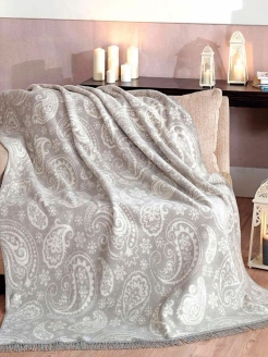 Плед 200X220 Paisley Grey Arya home collection