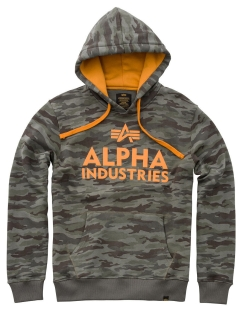 Худи Foam Print Hoody Alpha Industries