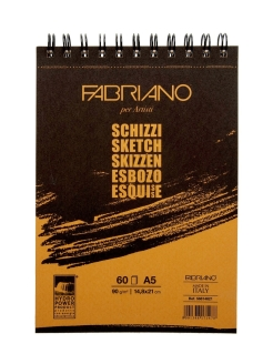 Creative notebook Fabriano