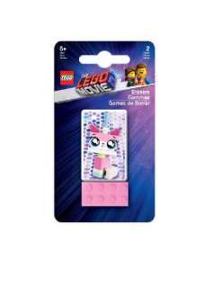 Набор ластиков LEGO (2 шт.) LEGO Movie 2 - Unikitty Lego.