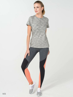 Тайтсы OS LUX TIGHT - CB P DGREYH Reebok