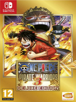 One Piece Pirate Warriors 3. Deluxe Edition [Nintendo Switch, английская версия] Namco Bandai / Atari