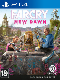 Far Cry. New Dawn [PS4, русская версия] Ubisoft