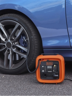 Компрессор Black & Decker ASI400-QS Black+Decker