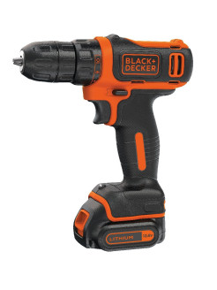 Шуруповерт Black & Decker BDCDD12B-XK с аккумулятором Black+Decker