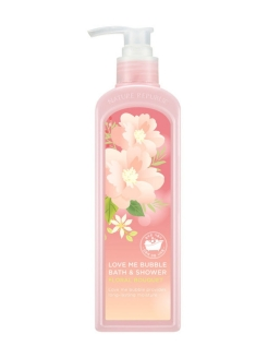 Гель-пена для душа Love Me Bubble Bath & Shower Gel Floral Bouquet NATURE REPUBLIC