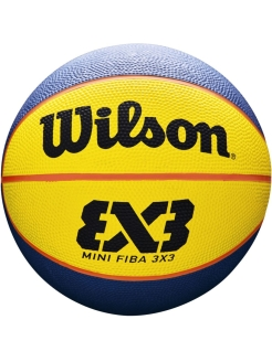 Мяч для стритбола FIBA 3X3 MINI RUBBER BASKETBALL Wilson