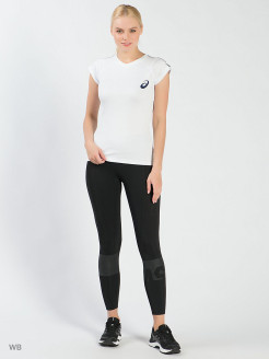 Тайтсы COLOR BLOCK CROPPED TIGHT ASICS