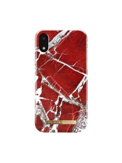 "Чехол для iPhone XR iDeal, ""Scarlet Red Marble"" iDeal of Sweden"