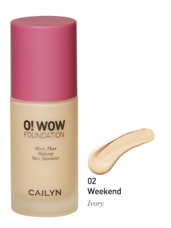 Тональное средство O! WOW Foundation, 02 Weekend - Ivory CAILYN