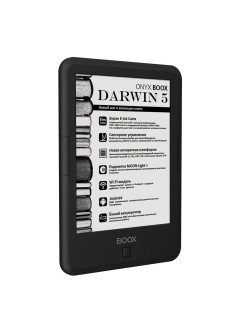 Электронная книга DARWIN 5 (Carta, Android, MOON Light+, Wi-Fi, 8 Гб) ONYX Boox