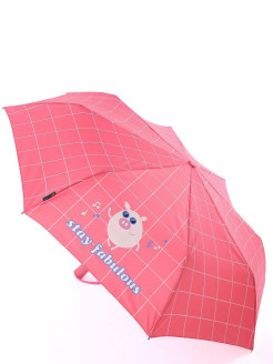 Umbrella Female, S cl. FullAuto., 8/55, P / E with mother-of-pearl coating, with UV protection and Teflon coating Rain`s Talk