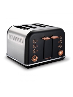 Morphy Richards Тостер Accents Rose Gold Black 242104 Morphy Richards