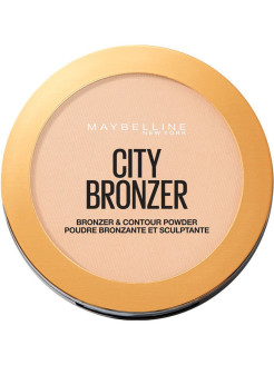 Maybelline New York Бронзирующая пудра для лица FACESTUDIO CITY BRONZER, 8 г Maybelline New York