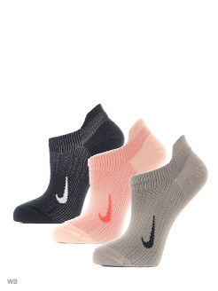 Носки W NK EVERYDAY PLUS LTWT NS 3PR Nike