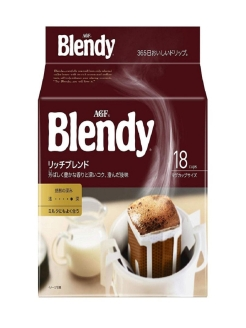Blendy Rich (Бленди Рич) Ajinomoto General Foods, INC (AGF)